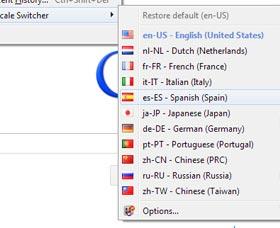 como cambiar a Firefox de idioma
