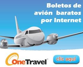comprar un boleto de avion barato por internet onetravel