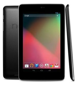 google nexus 7 tableta