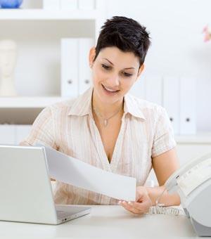 recibir un fax en la computadora