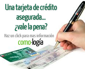 Tarjeta de crédito asegurada, ¿vale la pena?