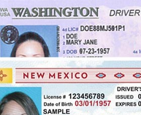 licencia de conducir washinton new mexico