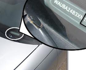 parabrisas numero de identificacion vehicular