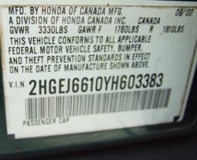 puerta del conductor encontrar numero de identificacion vehicular