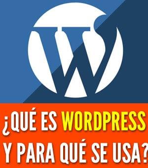 qué es wordpress para que se usa
