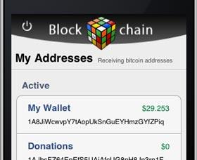 cartera bitcoin blockchain