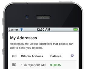 enviar bitcoins iphone