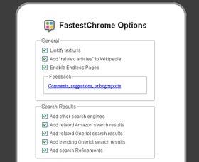 FastestChrome mejorar a Google Chrome