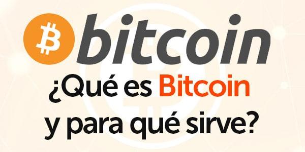 que es bitcoin para que se usa