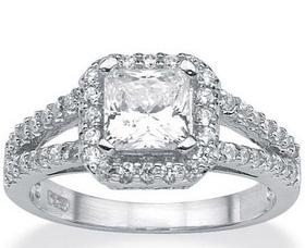 anillos de compromiso zirconio