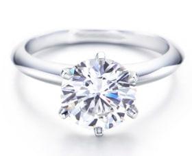 anillos de compromiso plata