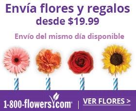 enviar flores por internet 1800 flowers cumpleanos aniversario navidad