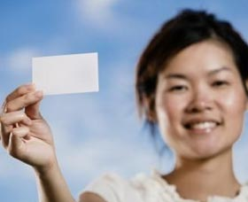 repartir tarjetas de presentacion
