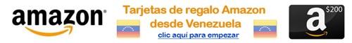tarjetas de regalo amazon desde venezuela comprar