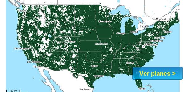 cobertura Ting mapa companias de celulares usa