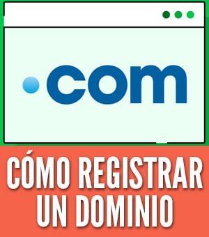 cómo registrar un dominio