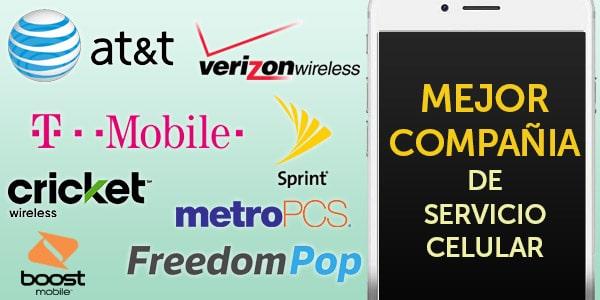 compañias de celulares en USA