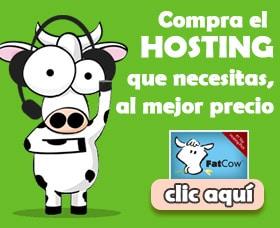 comprar hosting para un sitio en internet con fatcow