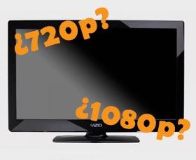 cual television comprar definicion 720p 1080p