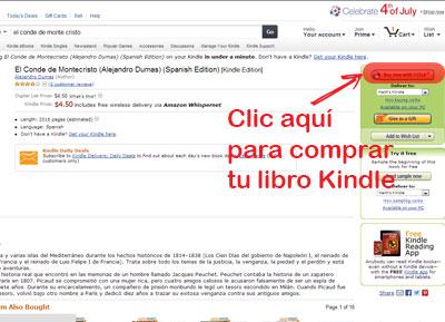 COMO COMPRAR UN LIBRO KINDLE EN AMAZON