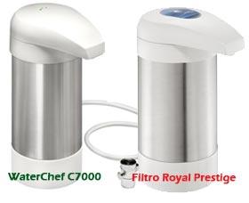 filtro de agua royal prestige waterchef c7000 filtro mejor que royal prestige