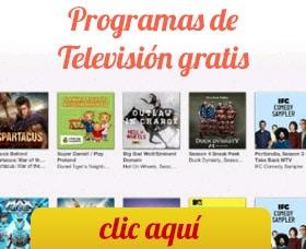 programas de televison gratis