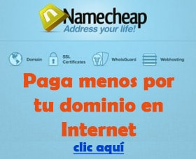Registrar un dominio en Internet paga menos por tu dominio en Internet