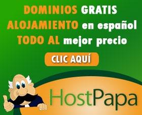 registrar un dominio barato por internet dominio gratis alojamiento hostpapa