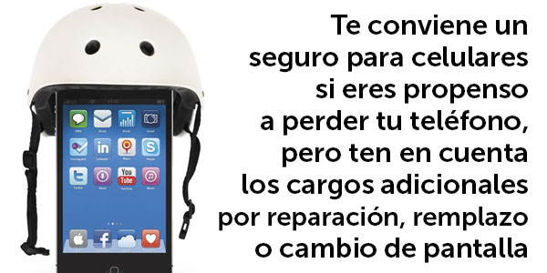 seguro para telefonos celulares conviene