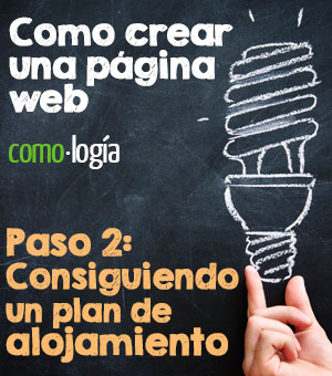 como crear una pagina web consiguiendo un plan de alojamiento o hosting