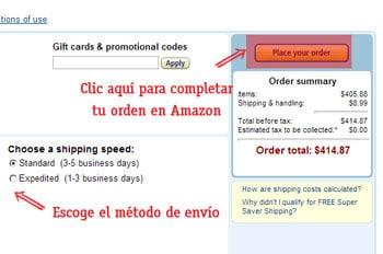 como comprar en amazon fuera de estados unidos como pagar por una orden de amazon