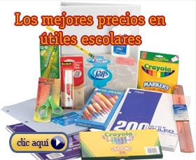 comprar utiles escolares por internet amazon