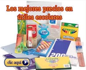 comprar utiles escolares por internet amazon