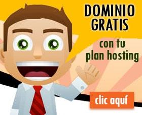 hosting con un dominio gratis alojamienton con dominio gratis