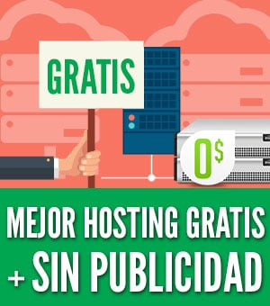 hosting gratis sin publicidad