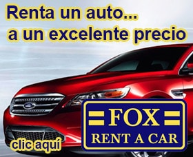 rentar un auto por internet fox rent a car