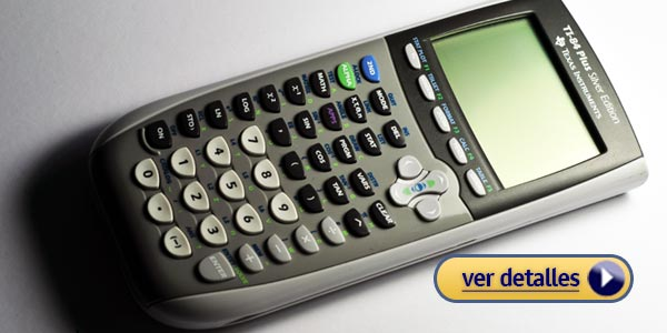 Mejor calculadora gráfica: TI-84 Plus Silver Edition