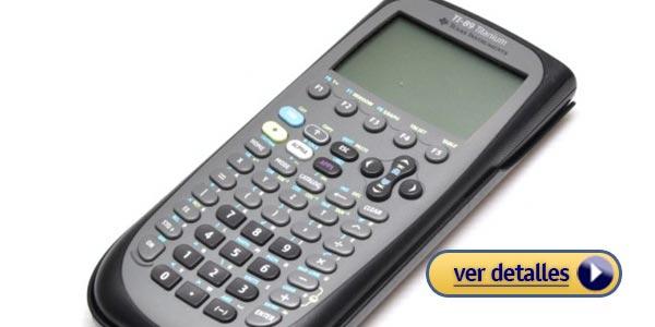 Mejores calculadoras gráficadoras: TI-89 Texas Instruments