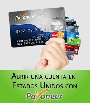 abrir cuenta en estados unidos con payoneer cuenta bancaria usa