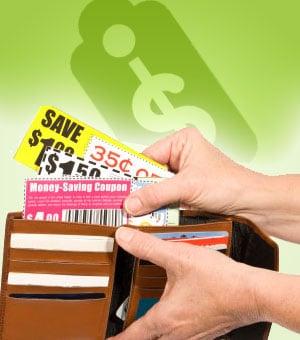 ahorrar dinero con cupones de descuento