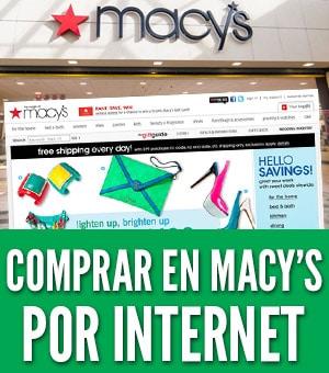 como comprar en macy's online