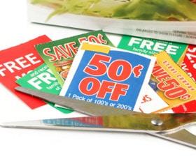 cupones de alimentos en el periodico o diario los domingos
