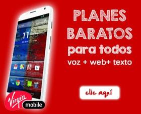 Mejor compañía de celular sin contrato: Virgin Mobile