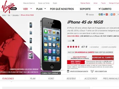 comprar un celular virgin mobile iphone
