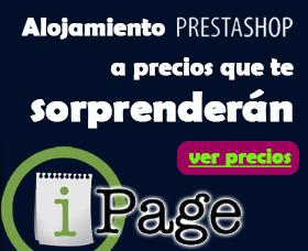 alojamiento prestashop ipage ahorrar dinero con ipage hosting barato prestashop