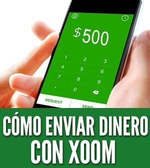 Como enviar dinero con xoom