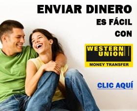 enviar dinero con western union al extranjero