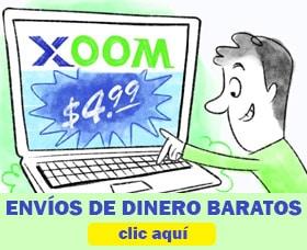 envíos de dinero baratos xoom transferwise