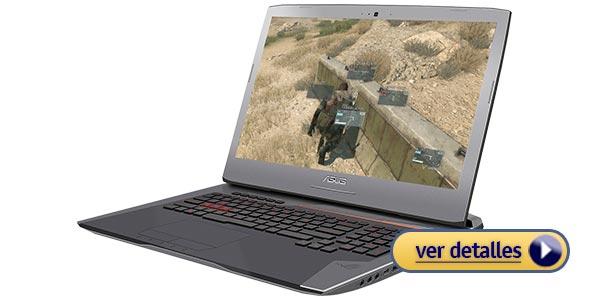 ASUS ROG G752VL mejor laptop para diseño