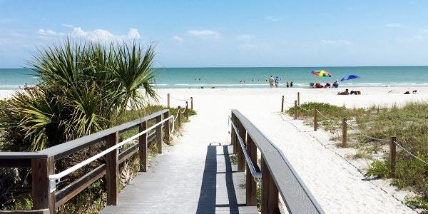 Sanibel Beach Mejores playas de Florida